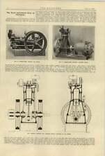 1920 6 Hp Crossley Gas Engine National Paraffin Engine