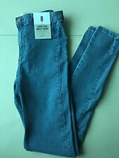 Primark Vintage Blue High Waist Skinny Jeggings