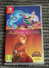 Disney Juegos Clásicos Aladdin Y El Rey León Nintendo Switch Juego 2019