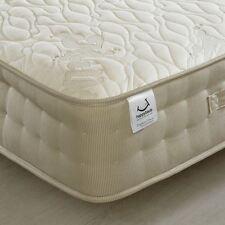 Happy Beds Mattress 3ft Single Natural Milk Memory Foam Sprung Bedroom Home New