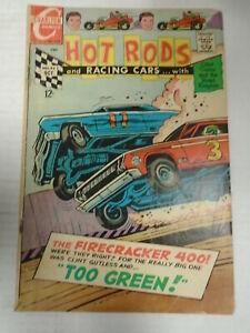 Charlton HOT RODS AND RACING CARS #92 (1968) Racing, Jack Keller, Vince Alascia
