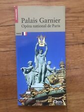 OPERA Palais Garnier itineraires French Booklet culture touristic guide