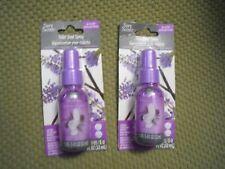 2 X 1.1 FL oz  Toilet Bowl Spray Deodorizer 32ml Fresh Lavender Vanilla Scents