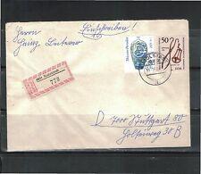 Briefmarken der DDR (1971-1980) als Einzelmarke mit Mischfrankatur