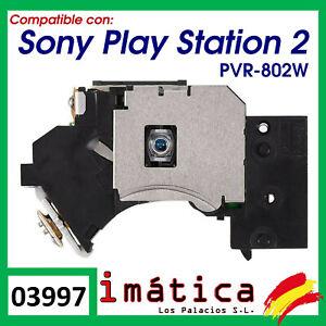 LENTE PARA PS2 SONY PLAY STATION 2 SLIM PVR-802W 70000 90000 SERIES LASER LENS
