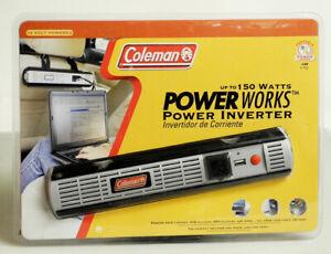 Colman Power Works Inverter USB 120v  from Car 12v Port New