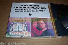 Scott Wesley Brown CD All My Best The Language Of Jesus Is Love 2 Albums on 1 CD