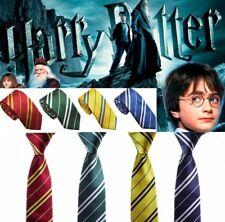 Harry Potter Tie Costume Halloween Gryffindor Hufflepuff Slytherin Ravenclaw