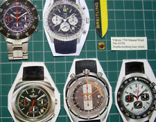 #2558 Double Toothing Hour Wheel. Valjoux Cal.7740 Breitling Heuer Chronographs