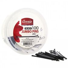 "ANNIE 100 COUNT JUMBO BOB PINS 2 3/4"" BALL TIPPED HAIR PIN"
