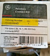 (C) GE AUXILIARY CONTACT KIT THAUX64D New!⚡️