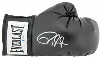 Roy Jones Jr. Authentic Signed Black Everlast Boxing Glove BAS Witnessed