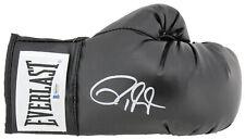 Roy Jones Jr. Authentic Signed Black Everlast Boxing Glove BAS Witnessed