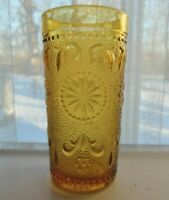 Brockway Glass Amber American Concord 5 ounce Juice Tumbler