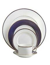 Waterford Lismore Diamond Lapis 60Pc China Set, Service for 12