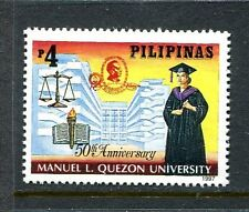 Philippines 2485, MNH.Manuel L. Quezon University - 50th Anniversary