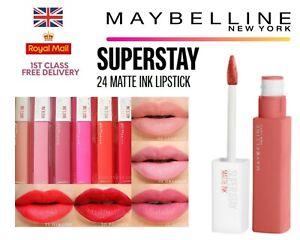 Maybelline Superstay Matte Ink 5ml Liquid Lipstick BRAND NEW Pick your shade UK