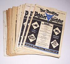 """Konvolut Zeitschriften """" Der Deutsche Pelztierzüchter """" 1937-1946 Kürschner !"""