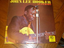 John Lee Hooker LP In Person