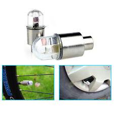 B66 2x Auto Reifen Schock Sensor Licht Reifen Ventil Staubkappe Motorrad Fahrrad