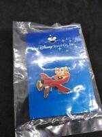Goofy in Red Airplane Walt Disney Travel Company Official Pin