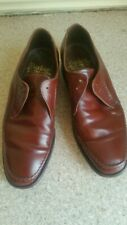 MENS VINTAGE BARKERS Brown SHOES 8.5 G Leather