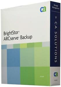 CA SOLUTIONS BRIGHTSTOR ARC SERVE BACKUP PROTECTION SUITE BABWBR1151S26 (W16)