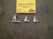20mm Britannia Miniatures WWII British Land Mine Team  #1
