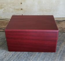 Terry Bear Cherry Wood Pet Urn for Dogs or Cats New Unused