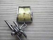 Reloj Juvenia Broche Vintage/Pin intacta se ejecuta