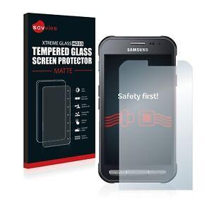 Savvies Verre Trempé Mat pour Samsung Galaxy Xcover 3 Vitre Protection Écran