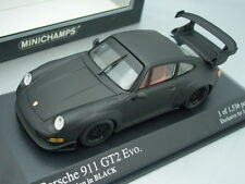 1/43 Minichamps PORSCHE 911 GT2 EVO. - HOMOLOGATION IN BLACK