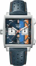 CAW211R.FC6401 | BRAND NEW TAG HEUER MONACO GULF RACING STEVE MCQUEEN MENS WATCH