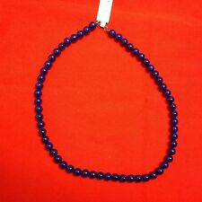 """QUALITY COSTUME JEWELRY 18"""" Royal Blue Beads"""