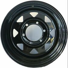 To Suit Mazda BT50/Ford Ranger After Market 16x8 Black Sunraysia Style Steel Rim