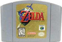 Legend of Zelda Ocarina of Time - Nintendo N64 Game Authentic