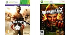 blackwater & mercenaries 2 world in flames     Xbox 360  PAL