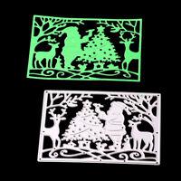 SantaClaus Metal Cutting Dies Stencil for DIY Scrapbook Album Paper Cards Pip MZ