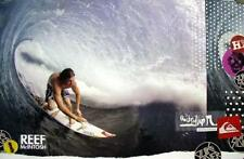Quicksilver surf Reef McIntosh promotional poster Flawless New old stock