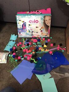ELLO Creation System AQUARIA Lot of 168 pieces w box
