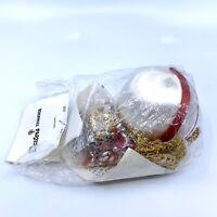 Vintage Dexter's Boutique Sequined Mid Century Modern Christmas Ornament Kit