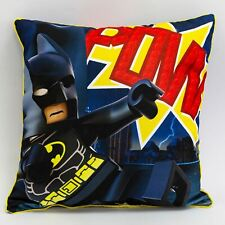 Official Lego Cushion Superheroes Challenge Square Filled Kids Boys