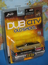 JADA DUB CITY OLD SKOOL 1962 CADILLAC '62 CLTR 030 FRESH RIDE BRAND NEW & VHTF