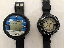 Uwatec - Wrist Mounted Digital Depth Gauge & Scuba Diving Compass