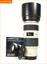 Canon EF 70-200mm F4 L IS USM Zoom Lens for EOS SLRs L Series + Free UK Post