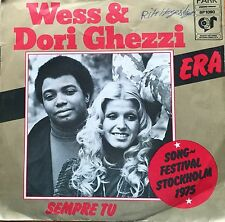 "Eurovision ITALY 1975 WESS & DORI GHEZZI Era 7"" single"