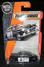 2017 Matchbox  '51 Hudson Hornet Police Car   Multiples Available   MB-2