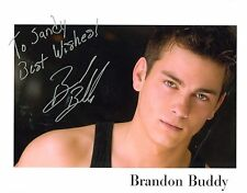 Brandon Buddy autograph signed photo One Life To Live Cole Thornhart