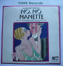 NO NO NANETTE - Margaret Burton & Cast - Excellent Con LP Record Saga EROS 8111