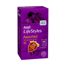 Ansell Lifestyles Assorted Condoms (24 condoms) Retail Pack